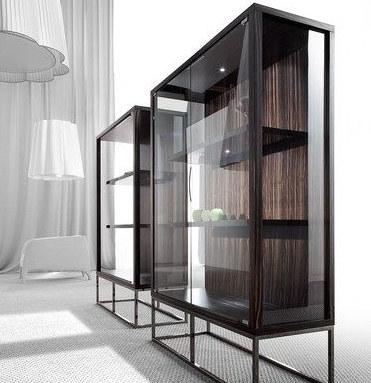 Шкаф в стиле лофт 015