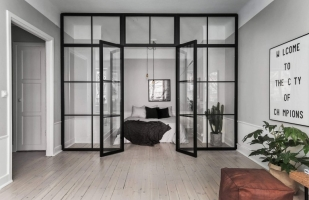 Изготовление перегородок из металла и стекла в стиле лофт любой сложности, металлические стеклянные перегородки по вашим размерам и дизайну на заказ.