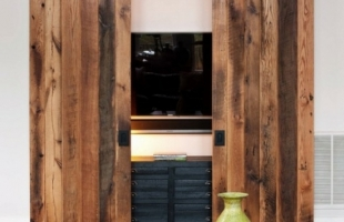 Амбарные двери в стиле лофт