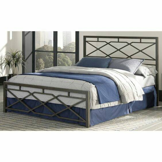 Кровать в стиле лофт K008
