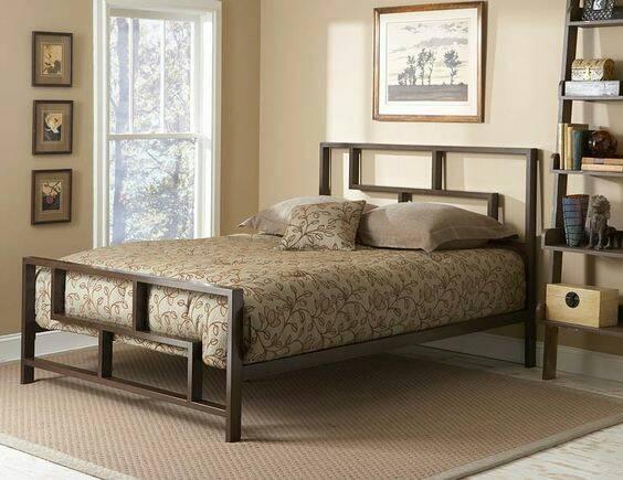 Кровать в стиле лофт K006
