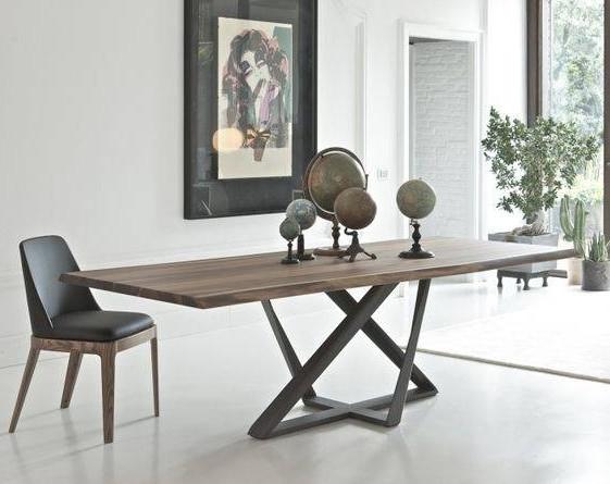 Обеденный стол в стиле лофт S008