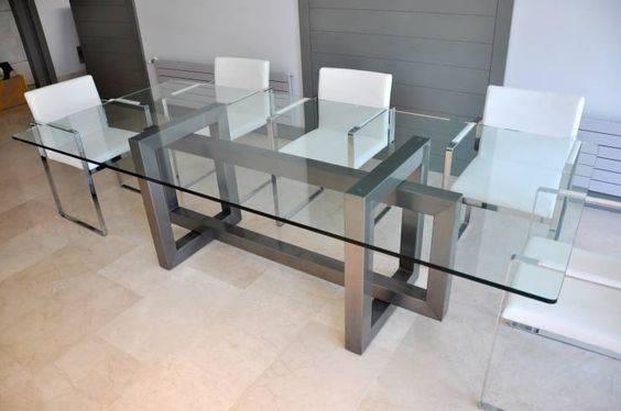 Обеденный стол в стиле лофт S010