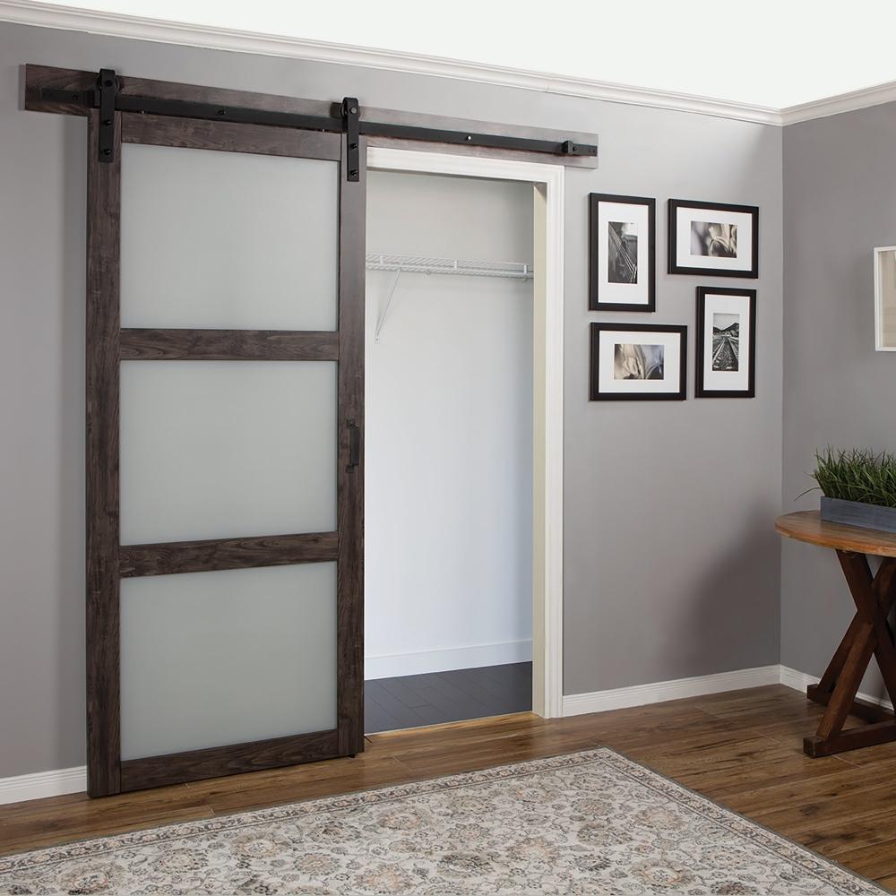 Амбарные двери в стиле лофт D006