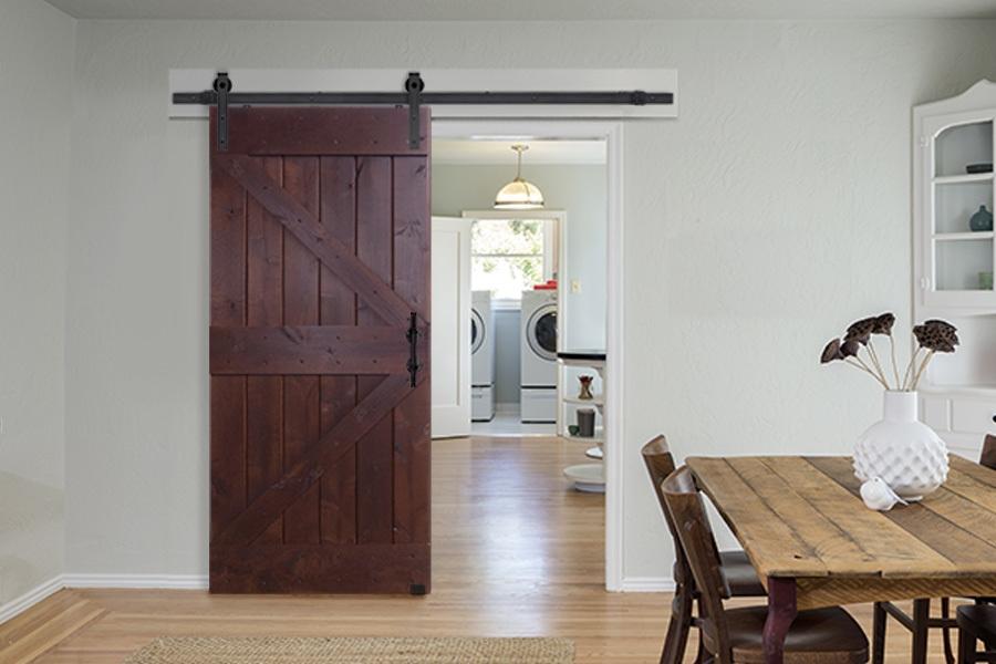 Амбарные двери в стиле лофт D013