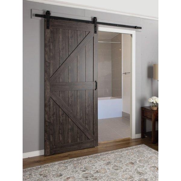 Амбарные двери в стиле лофт D009