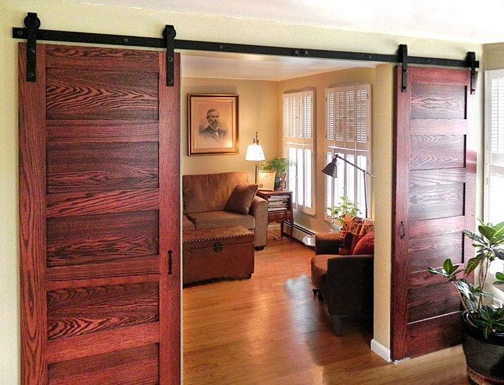 Амбарные двери в стиле лофт D001