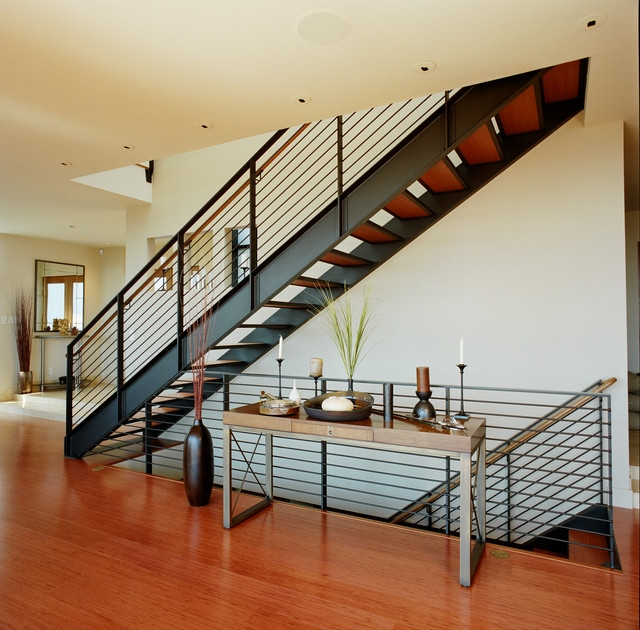 Лестницы в стиле лофт s002