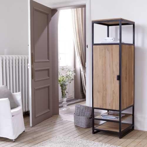 Шкаф в стиле лофт 006