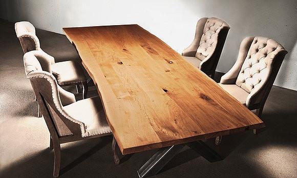 Обеденный стол в стиле лофт S012