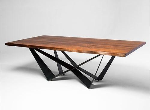 Обеденный стол в стиле лофт S017