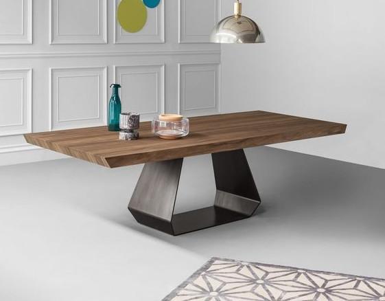 Обеденный стол в стиле лофт S002