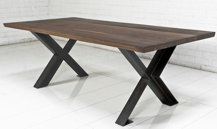 Обеденный стол в стиле лофт S015