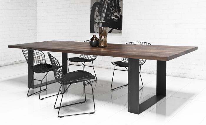 Обеденный стол в стиле лофт S014