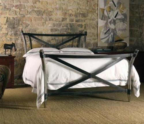 Кровать в стиле лофт K010
