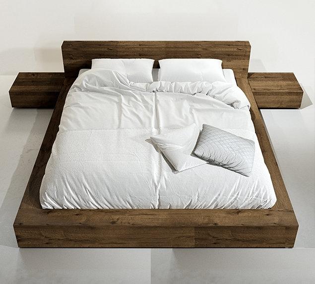 Кровать в стиле лофт K011