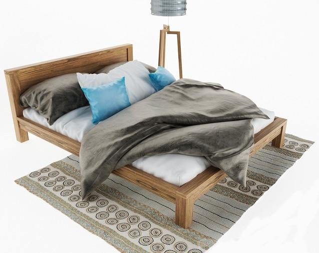 Кровать в стиле лофт K012