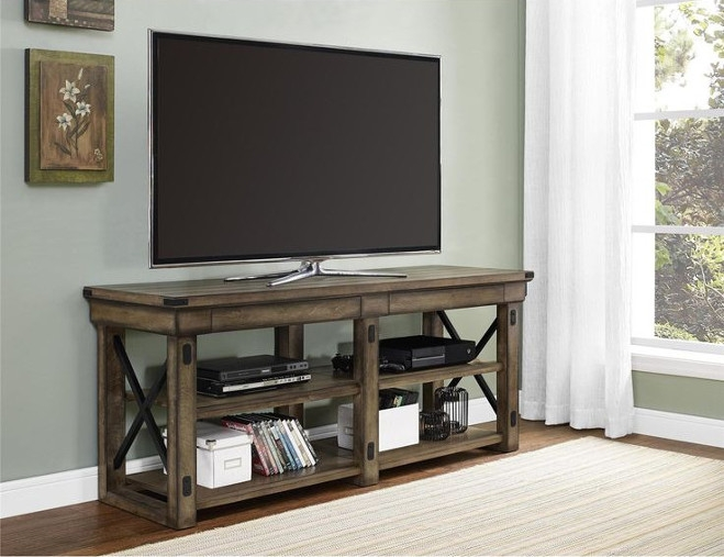 ТВ тумба в стиле лофт 009