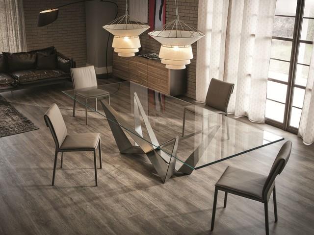 Обеденный стол в стиле лофт S003