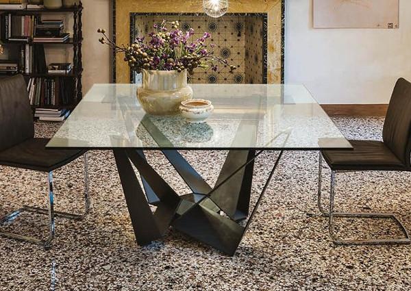 Обеденный стол в стиле лофт S018