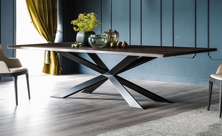 Обеденный стол в стиле лофт S009