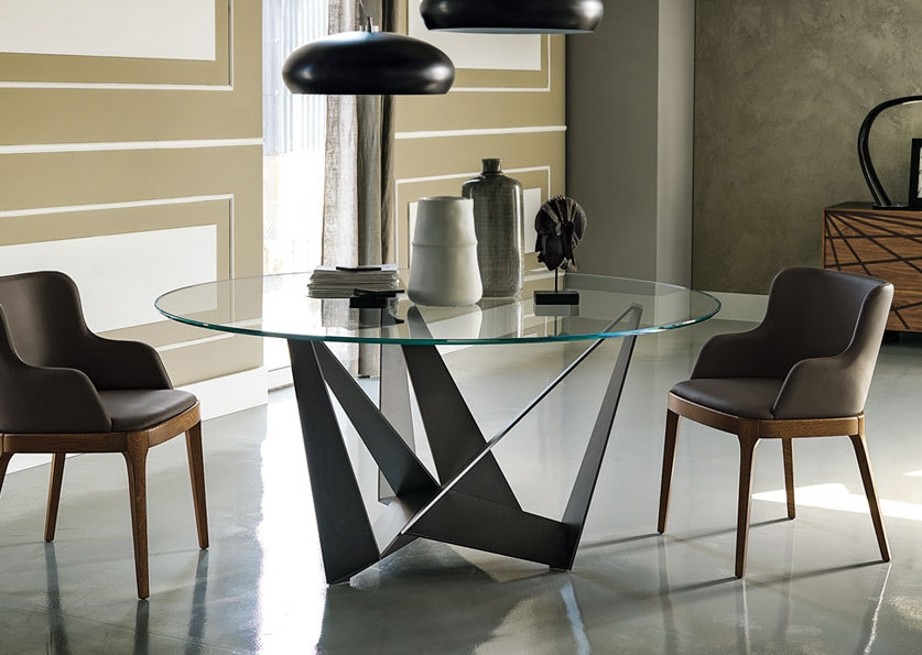 Обеденный стол в стиле лофт S016