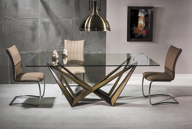Обеденный стол в стиле лофт S021