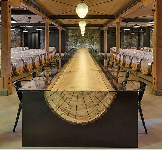 Барный стол в стиле лофт S022