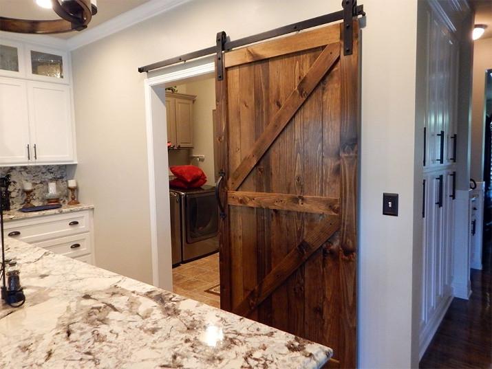 Амбарные двери в стиле лофт D005