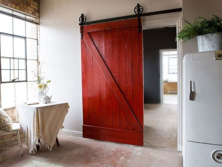 Амбарные двери в стиле лофт D014