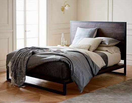 Кровать в стиле лофт K001