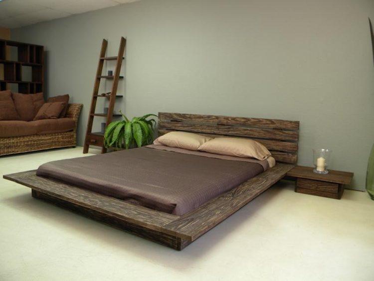 Кровать в стиле лофт K009