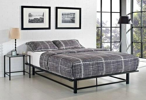 Кровать в стиле лофт K018