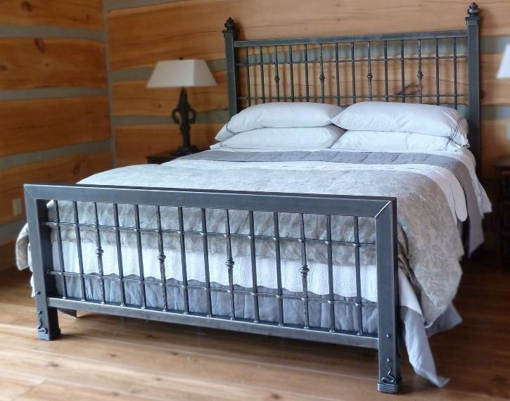 Кровать в стиле лофт K016