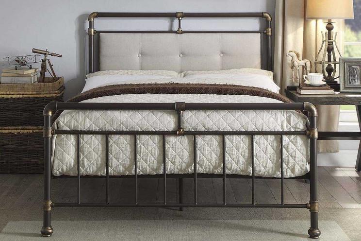 Кровать в стиле лофт K017